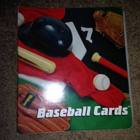 Binder full of Baseball cards from 70s to 90s - $400 (houston tx)
