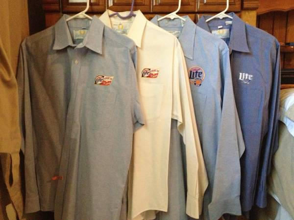 Beer Miller Lite Beer Dress Shirts (SouthWest)