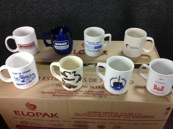 Vintage Coffee Mugs Glassware Oil and Gas - $1 (Westheimer South Dairy Ashford)