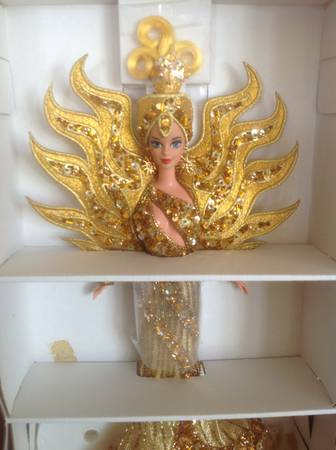 Barbie Bob Mackie goddess of the sun doll - $200 (Cypress - Fry Road near 290)