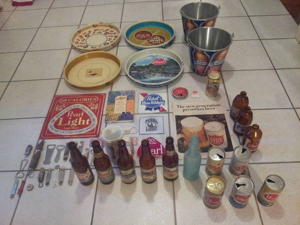 Beer Brewery Memorabilia Vintage Collection - $225 (ConroeThe Woodlands)