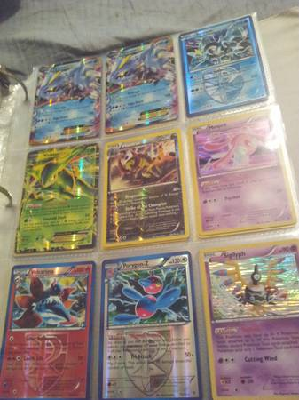 Full binder of raresHolosExs Pokemon cards. PICTURES - $1 (Spring)