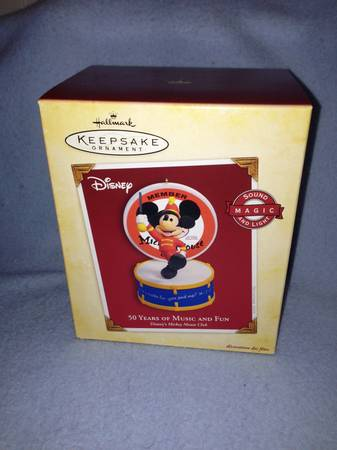 Hallmark Keepsake Ornament 50 Years Mickey Mouse - $20 (North )