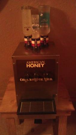 American Honey bar liquor tap machine - $250 (pearland)