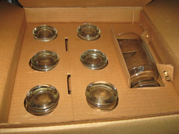 PRINCESS HOUSE - COCKTAIL MIXER- STIRRER-6 GLASSES - $25 (SUGAR LAND)