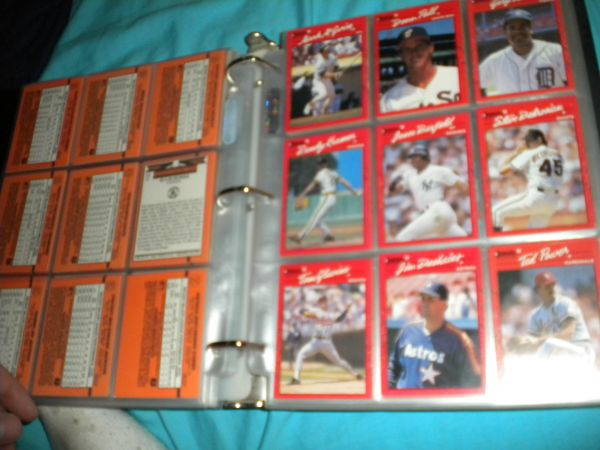 Baseball Card Collection- From 70s to 90s - $25 (Spring)