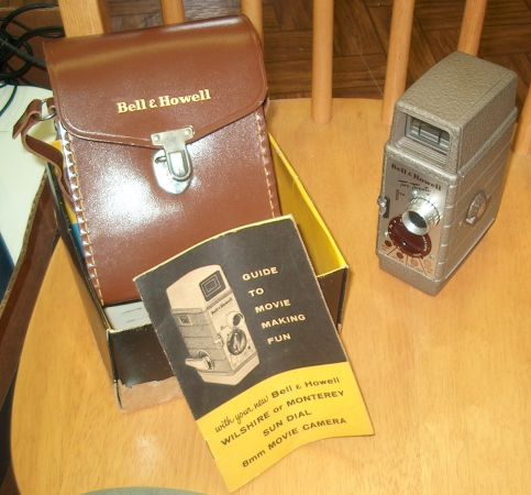 Bell Howell Two Twenty Movie Camera With Original Box and Manual - $50 (San Leon)