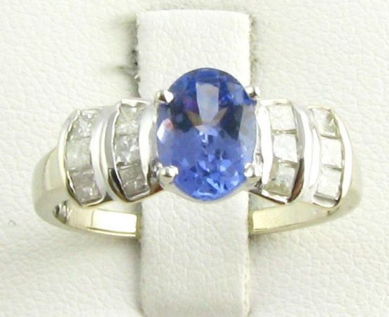 2.29 TANZANITEDIAMOND RING - TRADE for John BOAT wMOTOR or JET SKI - $2000 (NW HOSUTON - Spring)