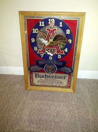 Budweiser Beer Signs Texans sign - $30 (Angleton)