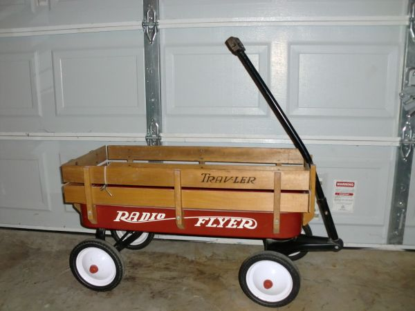 radio flyer wagon and toy - $85 (north west)