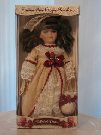 Fine Bisque Porcelain Dolls by Collectors Choice - $75 (Atascocita)