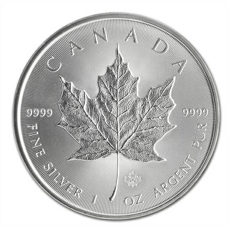 2014 Silver Maple Leaf Coins -   x0024 5  Houston