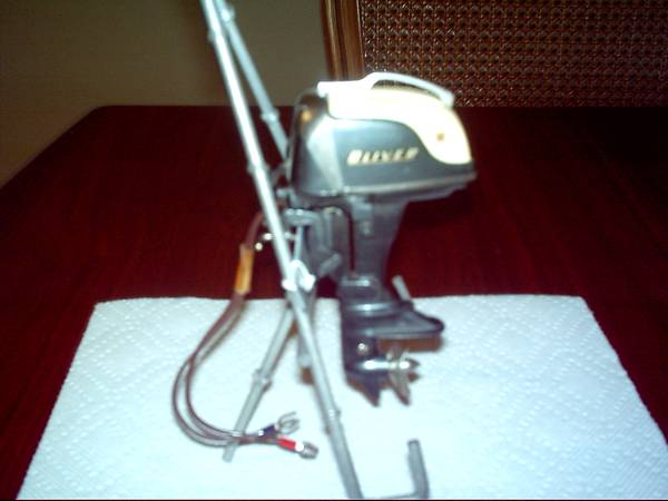 Oliver Olympus 35hp Toy Outboard Motor -   x0024 1100  Northwest-Cypress