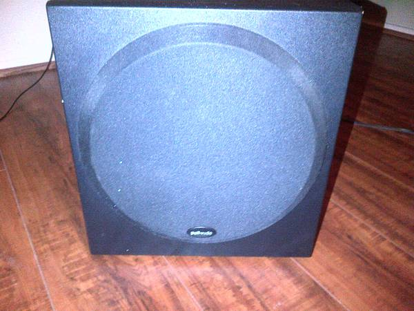 Polk PSW202 10 Home Theater subwoofer - $50 (The Woodlands)