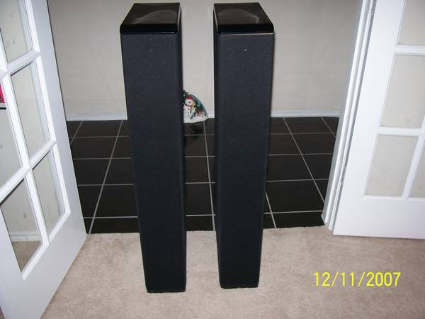 boston acoustics lynnfield vr series vr965 floor standing speakers - $350 (league city)