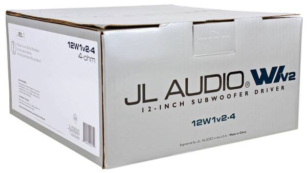 Brand New JL Audio W1v2 Subs - $100 (houston)