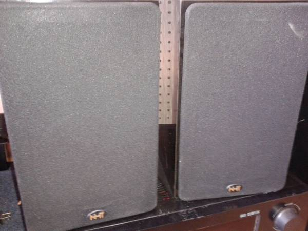 NHT Now Hear This SUPERONE Hi Fi Surround Sound Home Theatre Speakers  - x0024100 (East Downtown)