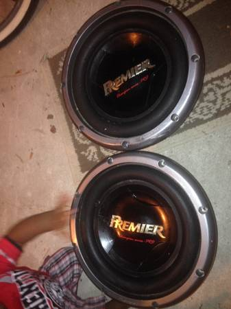 Pioneer Premier Competition Series Pro 12 in. Subs 3500 watts - $15 (northwest houston)