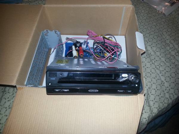 boss r2400d ,jensen flip out screen radio - $230 (east houston)