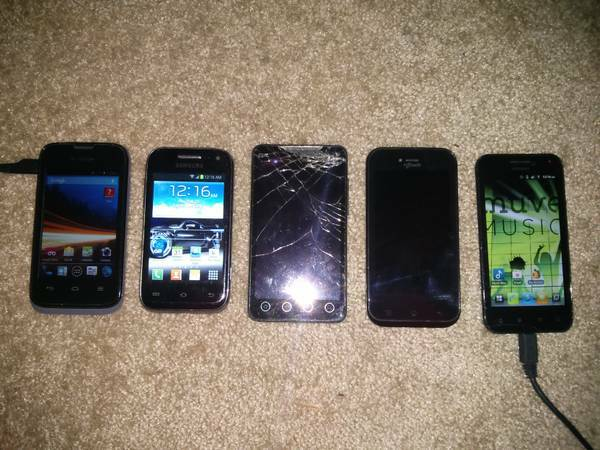 ANDROID PHONES FOR SALE OR TRADE (houston )