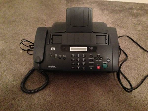 HP 1040 Fax ONLY $90 - $90 (Memorial Area, Highway 6)