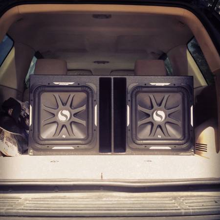 2 kicker L7 15 subwoofers 2010 W, Probox and planet 5000 watt - $750 (Houston TX)