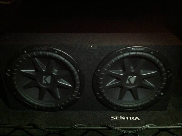 Kicker Subs... Car Audio Speakers... Amp... (Conroe Tx)