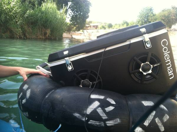 HIGH QUALITY waterproof speaker cooler - $1300 (spring, tx)