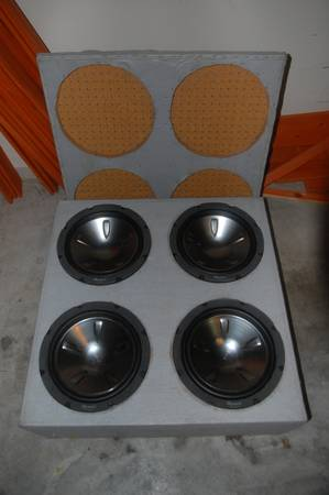 Car Stereo Subwoofer Boxes for Sale - $1 (HoustonPearland)