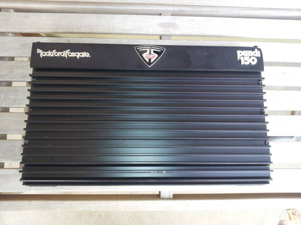 ROCKFORD FOSGATE PUNCH 150 25 TO LIFE - $300 (south east houston)