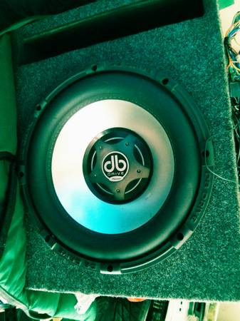 12 inch db drive platinum series sub 750w rms - $1 (the woodlands)