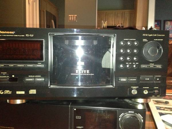 pioneer Elite 301 CD changer model PD-F27 - $150