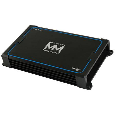 NEW AUTOTEK MEAN MACHINE MM4000.1D 4000 WATT MONO AMP - $159 (LAKE JACKSON---CLUTE)