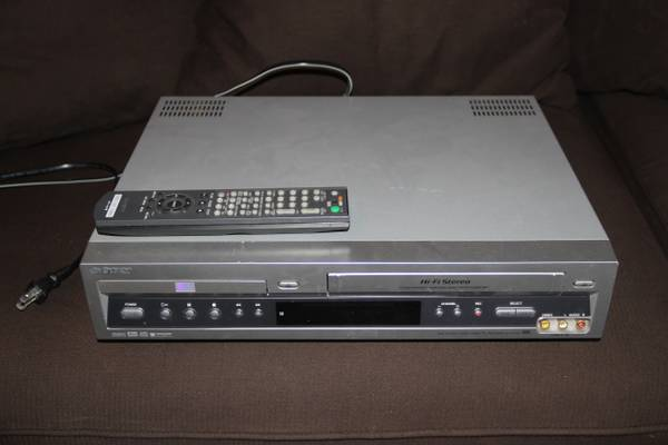 Sony DVD VCR combo - $30 (Fairview and Taft Houston)