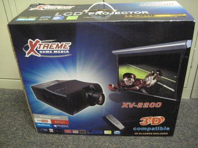 XTREME HOME MEDIA XV-2200 LCD PROJECTOR with Screen Included - $600 (SpringCyfair)