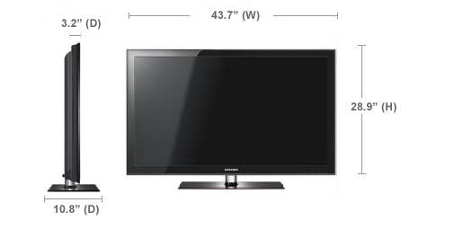 Samsung 46 LCD TV - 1080P 120Hz with USB - $700 (Sugar Land)