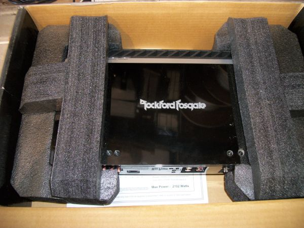 Rockford Fosgate Punch P500-2, 1000 watt Compact 2-Channel Amplifier - $160 (CypressKaty)