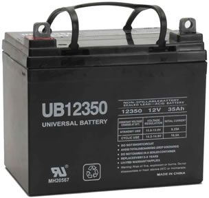 Electric Wheelchair Batteries - UB12350 - $80 (Houston)