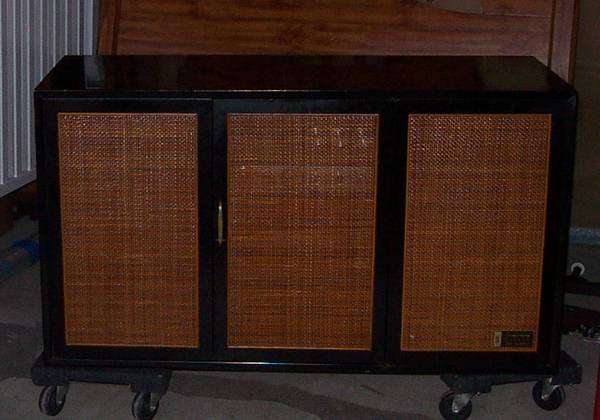 Vintage 1950s Zenith Stereophonic Stereo Turntable Combo (Missouri City)