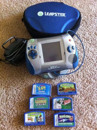 Leapster plus 6 games - $25 (South side)