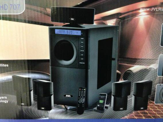 Brand new professional home theater system JVL audio wave series model hd 707 - $550 (Houston)