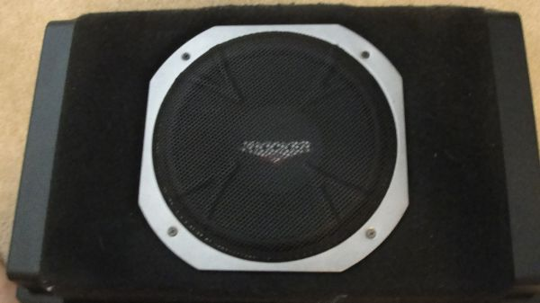 DODGE MAGNUM FACTORY SUBWOOFER WITH BRACKETS- ALSO 2 KICKER SUBS NEW (CYPRESS)