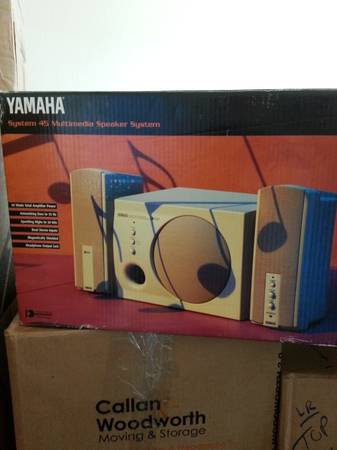 Yamaha computer speakers - $50 (Katy)