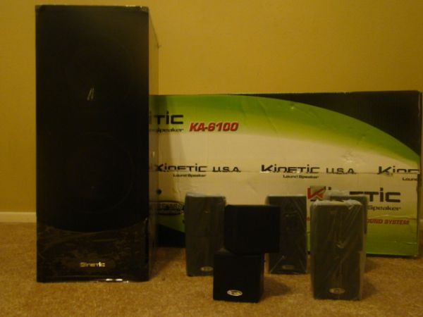 kinetic loud speakers - $65 (sw)