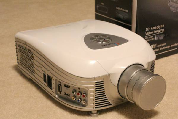 New - Volare Projector - $900
