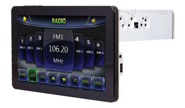 Trade 9.3in touchscreen radio for i phone or galaxy (west houston)