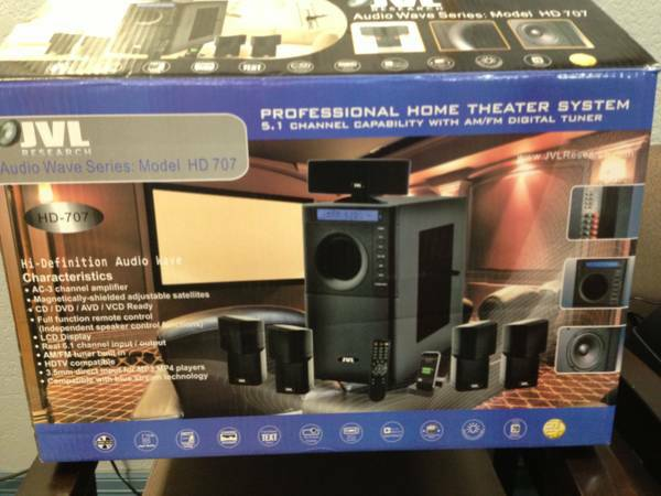 JVL HOME THEATER NEW ON BOX - $1900 (GALENA PARK)