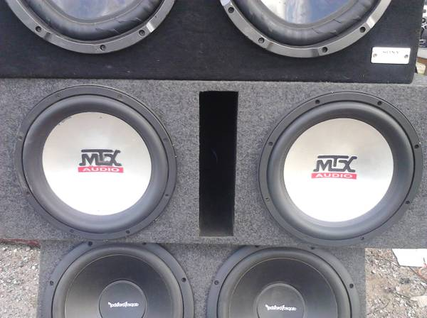 Mtx 7500 12 subwoofers - $200 (North houston)