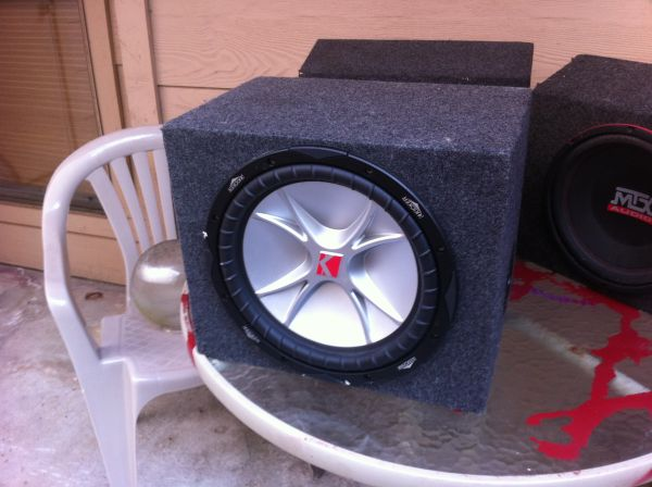 12 Kicker Sub with Amp - MTX - Memphis - logic cpx 2000 (Galleria)