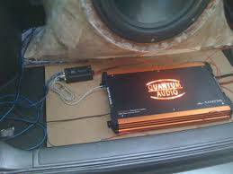 (QUANTUM AUDIO MONOBLOCK AMP 3000 WATTS) - $300 (HOUSTON)